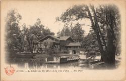 Lyon : Parc de la Tête-d'Or ; Le Chalet des Iles (Parc de la Tête-d'Or)