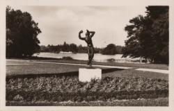 Lyon : Parc de la Tête d'Or ; Vue sur le lac