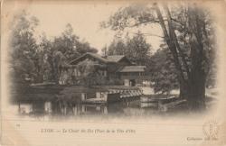 Lyon : Le Chalet des Iles (Parc de la Tête d'Or)