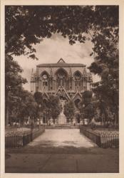 Lyon : Église de la Rédemption ; La façade