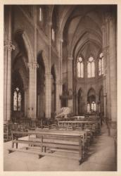 Lyon : Église de la Rédemption ; Grande nef