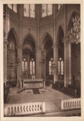 Lyon : Église de la Rédemption ; Le Choeur