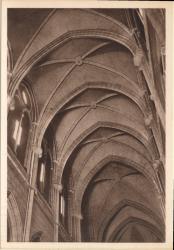 Lyon : Église de la Rédemption ; Perspectives sur la voûture