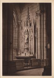 Lyon : Église de la Rédemption ; Chapelle des Fonts bastimaux