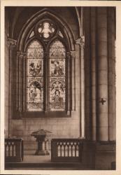 Lyon : Église de la Rédemption ; Fonts bastimaux
