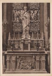 Lyon : Église de la Rédemption ; Chapelle de Saint Joseph