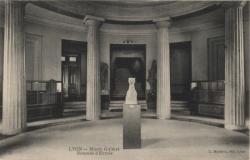 Lyon : Musée Guimet ; Rotonde d'Entrée