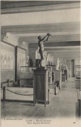 Lyon : Musée Guimet : Salle Égypto-Romaine.
