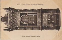 Lyon : Musée Colonial : 28 Boulevard de Belges : Un beau meuble de Kairouan (Tunisie)