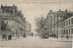 Lyon : Avenue Berthelot et École de Santé Militaire
