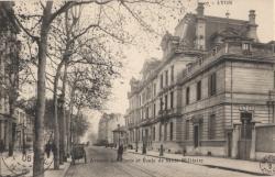 Lyon : Avenue des Ponts et École de Santé Militaire