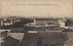 Lyon : Les Casernes et le Fort Lamothe