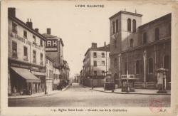 Lyon illustré : Eglise Saint-Louis ; Grande rue de la Guillotière