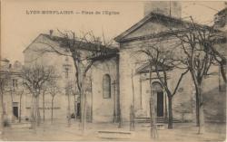 Lyon : Place de l'Église