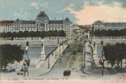 Lyon : Pont de l'Université ; Les Facultés