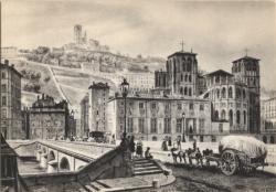 Lyon d'autrefois : Pont Tilsit