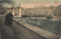 Lyon : Les Mouettes au Pont La Feuillée
