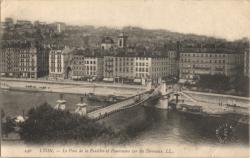 Lyon : Le Pont de la Feuillée et Panorama sur les Terreaux