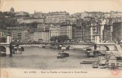 Lyon : Pont La Feuillée et Coteau de la Croix-Rousse