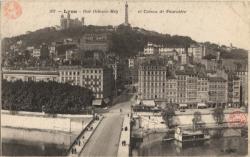 Lyon : Rue Octavio-Mey et Coteau de Fourvière
