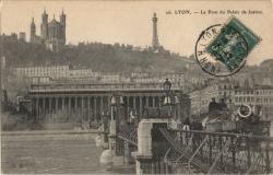Lyon : Le Pont du Palais de Justice