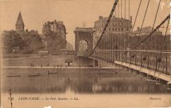 Lyon-Vaise : Le Pont Mouton