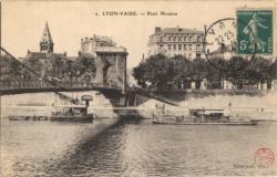 Lyon-Vaise : Pont Mouton