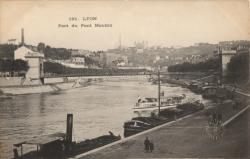 Lyon : Port du Pont du Mouton