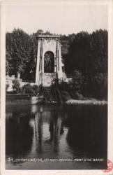 Environs de Lyon : Les Ponts meurtris ; Pont l'Ile Barbe