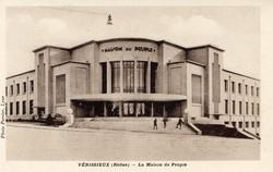 Vénissieux (Rhône) : La Maison du Peuple