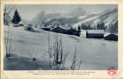 Les Contamines sur St-Gervais-les-Bains : Aiguilles de la Pennaz et de Roselette