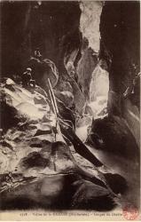 Vallée de la Dranse (Hte-Savoie) : Gorges du Diable