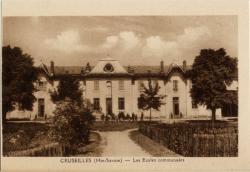 Cruseilles (Hte-Savoie) : Les Ecoles communales