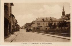 Cruseilles (Hte-Savoie) : Route d'Annecy