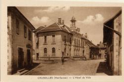 Cruseilles (Hte-Savoie) : L'Hôtel de Ville