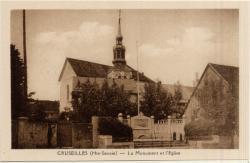 Cruseilles (Hte-Savoie) : La Monument et l'Eglise