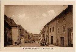 Cruseilles (Hte-Savoie) : Route de Genève