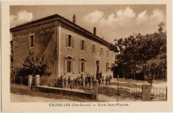 Cruseilles (Hte-Savoie) : Ecole Saint-Maurice