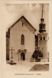 Cruseilles (Hte-Savoie) : L'Eglise