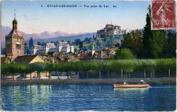 Evian-les-bains : Vue prise du Lac