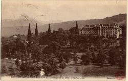 Évian-les-Bains : L'Ermitage et la Dent d'Oche