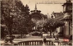 Évian-les-Bains : Source Cachat