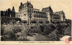 Évian-les-Bains : Le Splendide-Hôtel