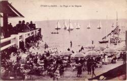 Évian-les-Bains : la Plage et les Régates