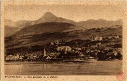 Évian-les-Bains : Vue générale de la station