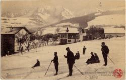 Hte-Savoie : Combloux ; Sports d'hiver