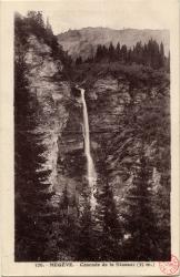 Megève : Cascade de la stassaz (35 m.)