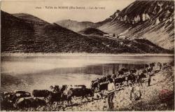Vallée du Borne (Hte-Savoie) : Lac de Lessy