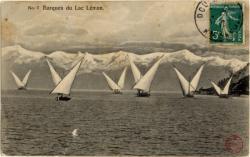 Barques du Lac Léman