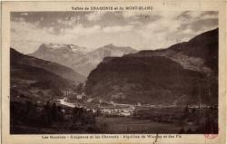 Vallée de Chamonix et du Mont-Blanc : Les Houches ; Coupeaux et les Chavants ; Aiguilles de Warens et des Fiz